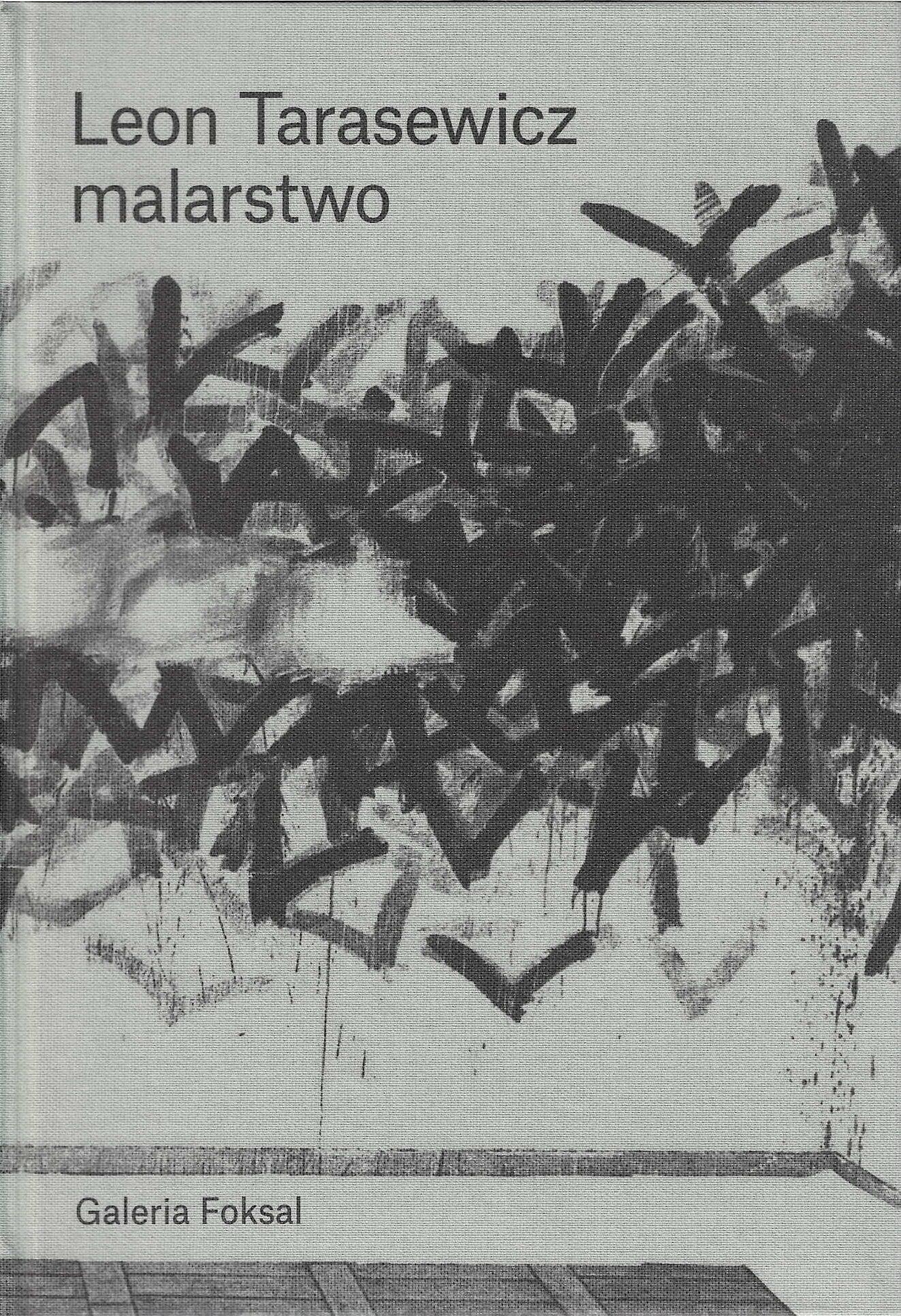 okładka książki - Leon Tarasewicz. Malarstwo