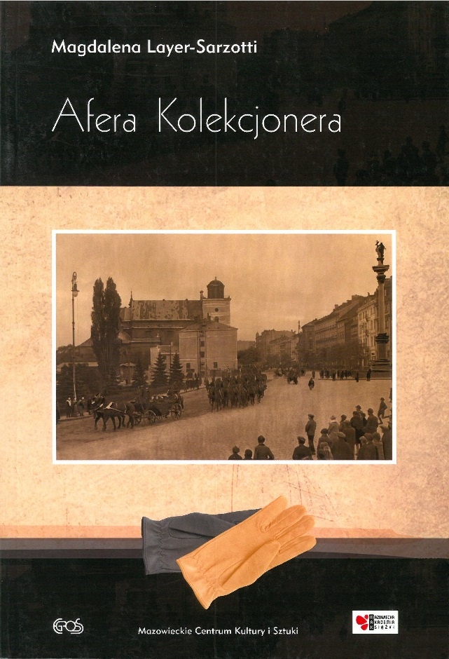 okładka książki - Afera Kolekcjonera