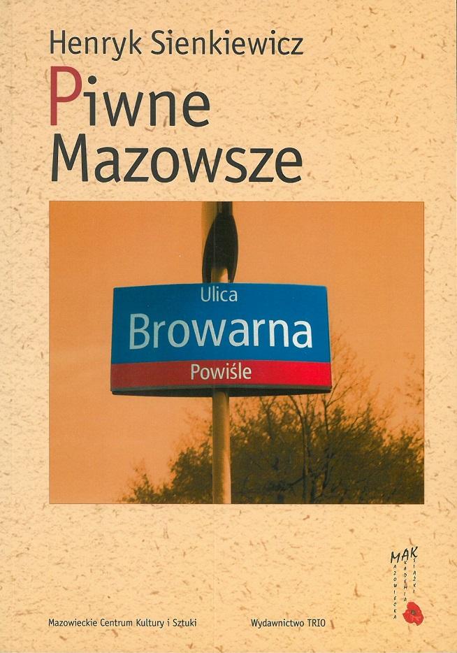 okładka książki - Piwne Mazowsze