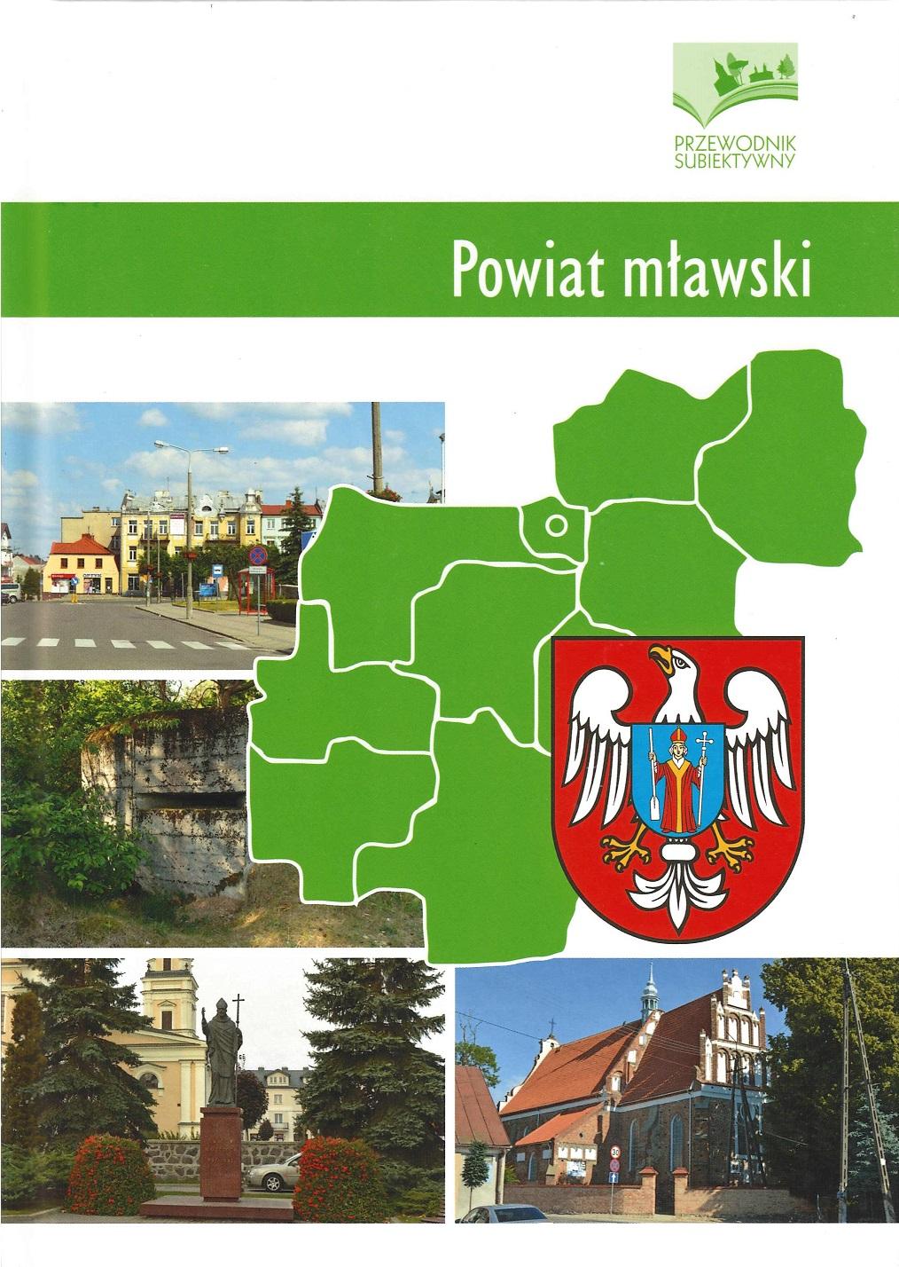 okładka książki - Powiat mławski