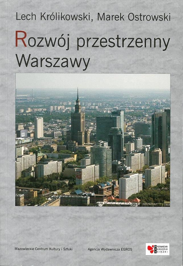 okładka książki - Rozwój przestrzenny Warszawy