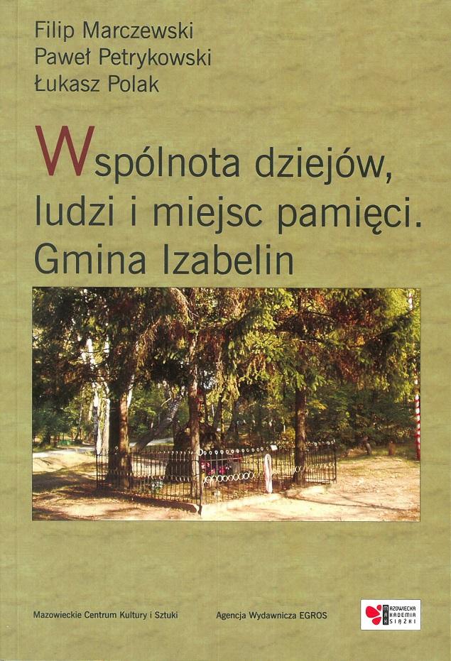 okładka książki - Gmina Izabelin