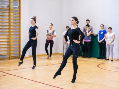 Zajęcia Tańca Ludowego - Mazowiecka Akademia Tańca Fot. Karolina Gmurczyk