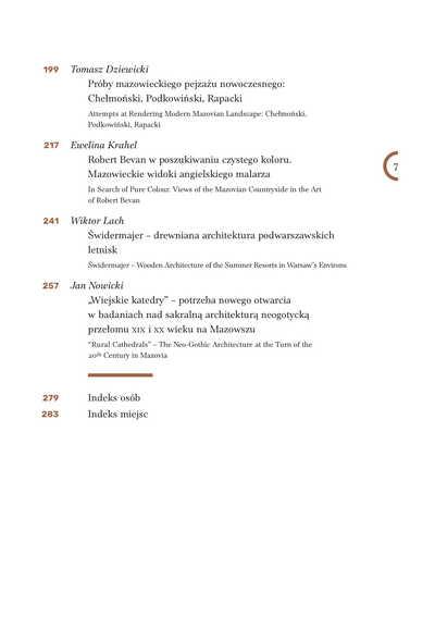 Publikacja pokonferencyjna spis 2