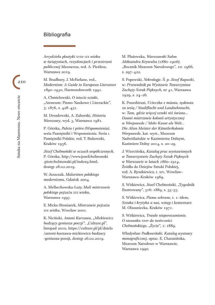 Publikacja pokonferencyjna