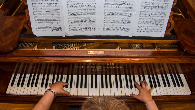 Klawiatura fortepianowa. Fot. Anita Kot