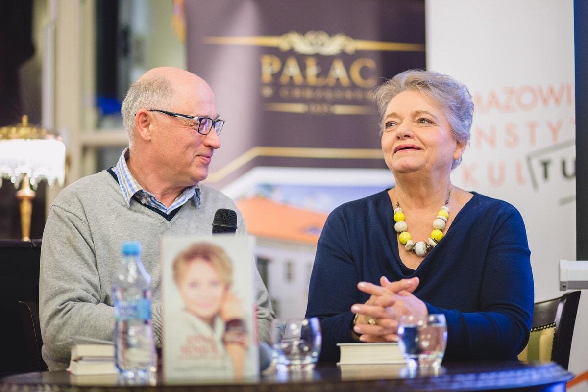 Spotkanie w Chrzęsnem - Anna Seniuk i Stanisław Zawiśliński Fot. Andrzej Kocuba