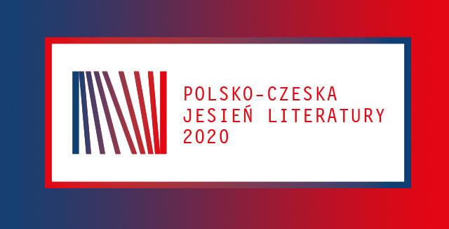 barwna plansza z napisem polsko-czeska jesień literatury