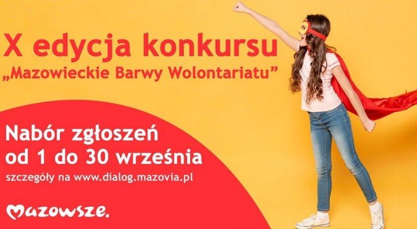 Rusza X Edycja Mazowieckich Barw Wolontariatu!