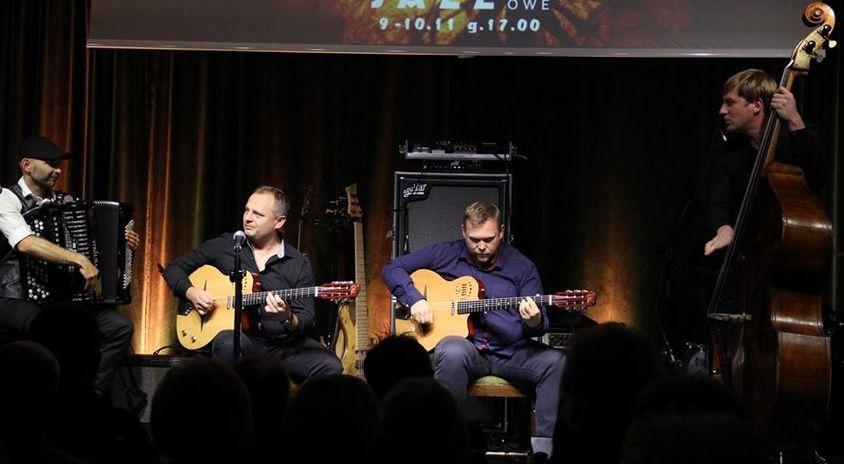 16 listopada, Płońsk | Jurassic Gypsy Quartet – Swing Club na Mazowszu