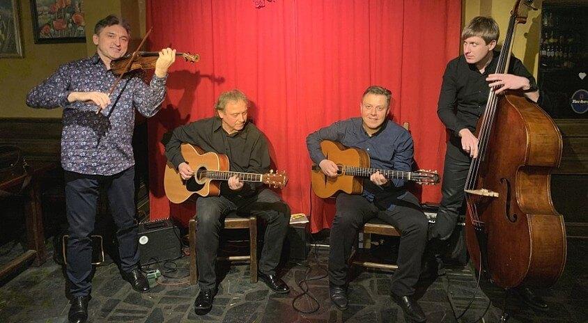 7 listopada, Sokołów Podlaski | 42. Zaduszki Jazzowe, Siergiej Wowkotrub Gypsy Swing Quartet – Swing Club na Mazowszu