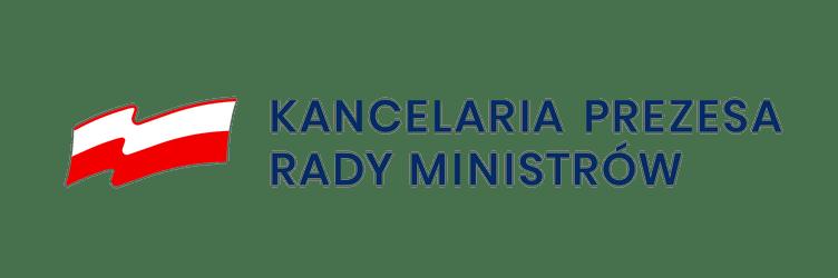 logo z napisem kancelaria prezesa rady ministró