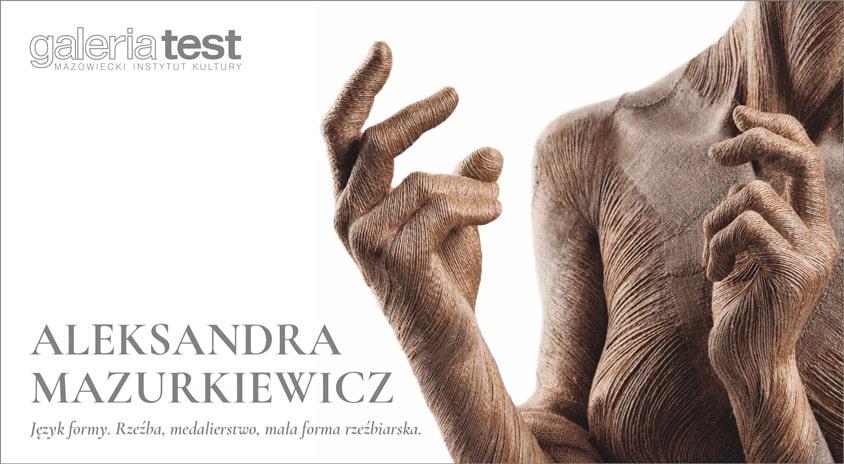 """Do 24 marca, Warszawa   Aleksandra Mazurkiewicz """"Język formy. Rzeźba, medalierstwo, mała forma rzeźbiarska. Wystawa doktorska"""" – Galeria Test"""