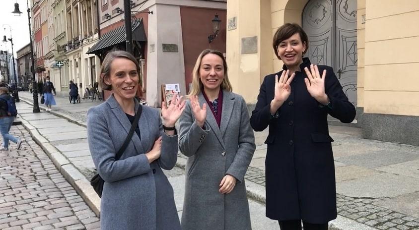 """Ekipa naszego serialu """"Pojęciownik teatralny"""" nagrywa w Poznaniu materiały do nowego odcinka"""