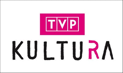 grafika: na białym tle napis TVP Kultura