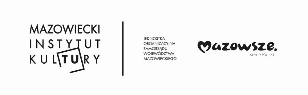 grafika: logotyp mik oraz znak marki Mazowsze serce polski