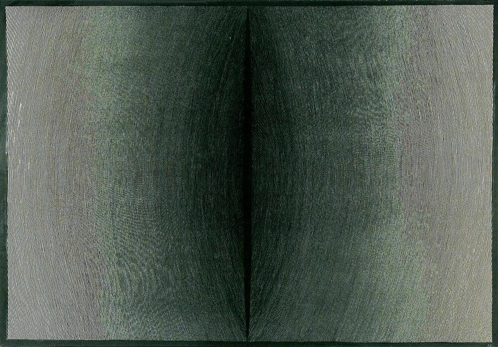 grafika abstrakcyjna w tonacji szarości i czerni