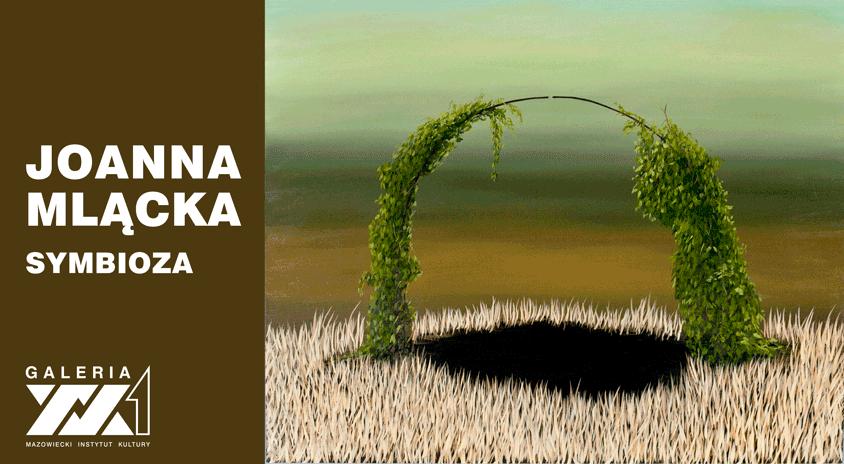 grafika: cienki półkolisty pałąk obrośnięty zielonym pnączem