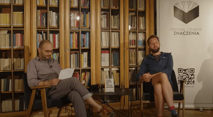 """""""Premie górskie najwyższej kategorii""""  – zobacz nagranie rozmowy z Jakubem Kornhauserem, laureatem Festiwalu Literackiego Znaczenia"""