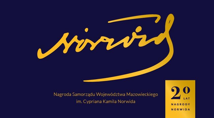 Uroczystość wręczenia Nagród im. Cypriana Kamila Norwida 2021