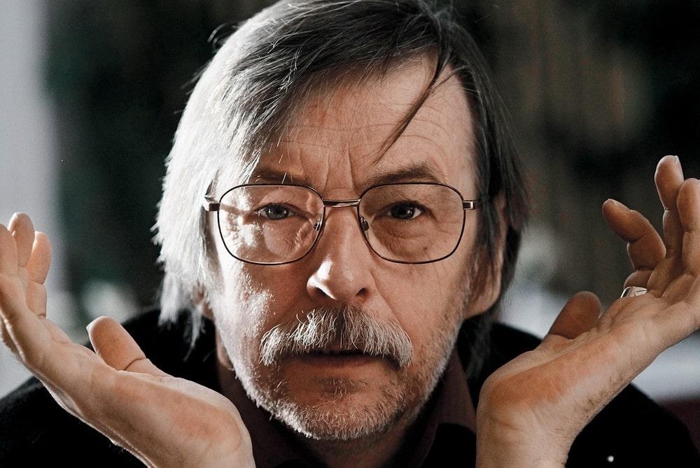 fotografia: Zbigniew Mikołejko, zbliżenie twarzy, mężczyzna w okularach